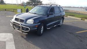 Hyundai santa fe 2004 1500$