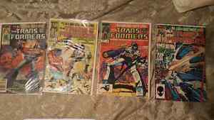 Transformers first issues 1-4    1984