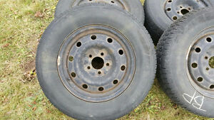 Defender winter tires on rims