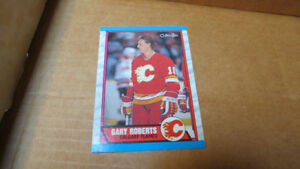 1989-90 Gary Roberts NHL OPC rookie card