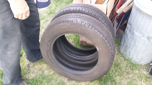 Goodyear integrity mud and snow tires 185 / 65R -15