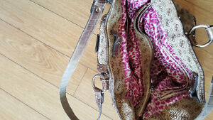 Large heavy guess  purse