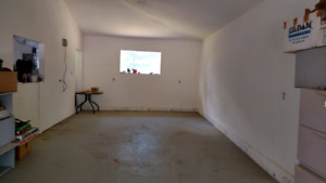Fall-winter-spring storage indoors, acreage 10 mins west of city