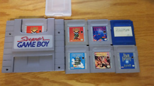Super gameboy 7 games final fantasy pokemon
