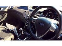 2016 Ford Fiesta 1.25 82 Zetec 5dr Manual Petrol Hatchback