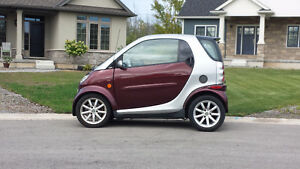 2006 Smart Fortwo Coupe + Winter Tires