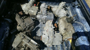 Jeep transfer case and transmission