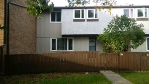 Newly renovated 3 bedroom townhouse North Edmonton pet friendly