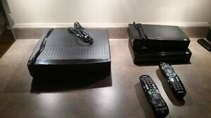 Shaw Gateway system 1TB PVR with 2 set top boxes