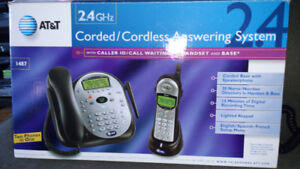AT&T Corded and Cordless Answering System