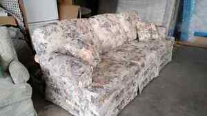 Couch and swivel rocker