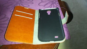 Leather wallet bag for Samsung S4 for sale London Ontario image 2