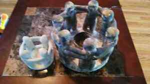2 circle of friends candle holders  Peterborough Peterborough Area image 2