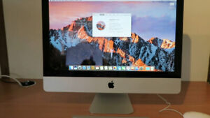 iMac 2010 for Sale w/ mouse + keyboard