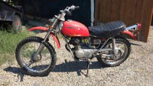 Honda sl100 1971