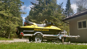 Beautiful SeaDoo RxDi, with trailer and accessories.