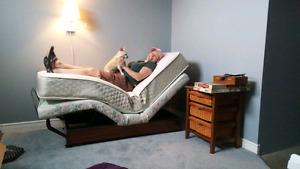 Ultramarine adjustable single bed