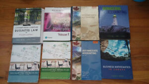 Business/Accounting Textbooks for MUN and CONA