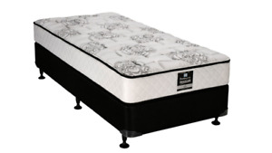 Will deliver! A single bed with mattress, box and frame!