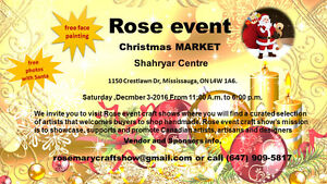 VENDORS WANTED Christmas Craft Shows, Markets & Bazaars