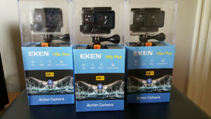 "EKEN H5S Plus 2"" Touch Screen 4K 12MP EIS WiFi Action Camera"