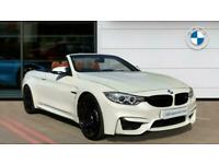 2017 BMW M4 2dr DCT [Competition Pack] Petrol Convertible Auto Convertible Petro