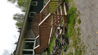 Decks,ramps,interior and exterior stairs ,deck sanding and stain