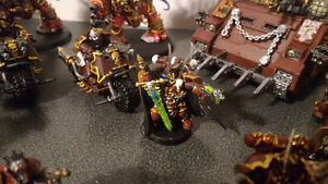 Painted 40k Chaos army, trade for X wing? London Ontario image 6