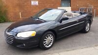 **CHRYSLER SEBRING 2004 Convertible limited**