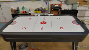 Real size - Viper Vancouver 7.5-Foot Air Hockey Game Table