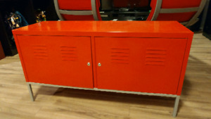 IKEA PS RED METAL CABINET