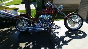 MINT 120CU IN CUSTOM CHOPPER OVER $65K INVESTED