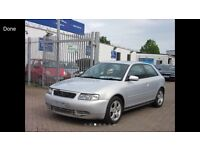 AUDI A3 1.8T TURBO MODEL REMAPPED VERY QUICK CAR WITH MODIFICATIONS CHEAP BARGAIN WILL HAVE NEW MOT