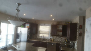 ceiling repairs and texture California ceilings Kitchener / Waterloo Kitchener Area image 7