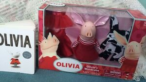 Olivia the Pig Posable Doll
