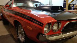 1974 Dodge Challenger Drag Car