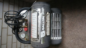 Air Compressor- barely used, and various power tools