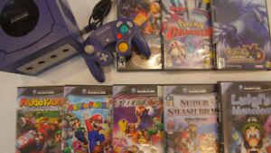 GameCube Games Mario Strikers Pikmin Mario Kart Double Dash+