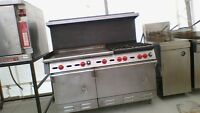 gas range and grill