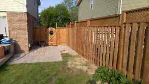 Fence work/ post setting/ deck work Peterborough Peterborough Area image 4
