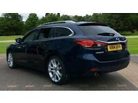2014 Mazda 6 Tourer 2.2d Sport Nav 5dr Manual Diesel Estate