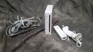 Nintendo Wii Gaming System with Games