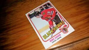 Denis Savard Rookie Card Peterborough Peterborough Area image 1