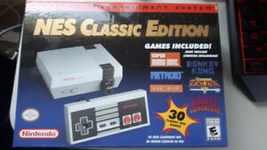 Nes Classic new in box