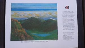 """Ocean Cement """"Building BC"""" Collection of 12 Prints"""