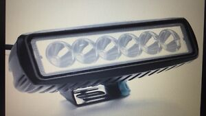 "6"" LED Spot lights 1550 lumens Brand new! $50pr"