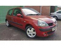 2005(55) RENAULT CLIO 1.2 16v DYNAMIQUE RED 3dr MANUAL 57.6MPG