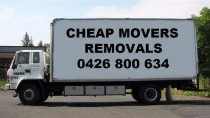 HOUSE MOVERS- FURNITURE REMOVALS-REMOVALIST - FROM $65 PER HOUR