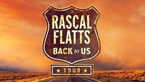 Rascal Flatts / Dan & Shay Tickets - August 16th Show