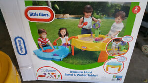 Sand & water table.